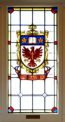 McMaster stained glass window